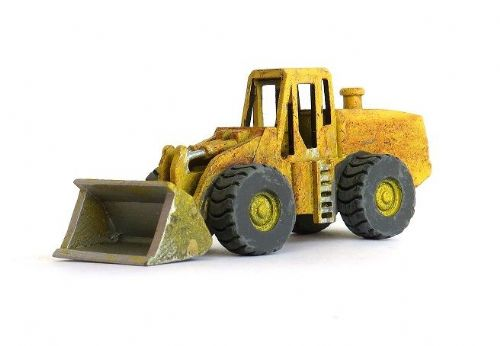 Arch Laser A3D066 N Gauge 4-Wheeled Front Bucket Loader (weathered)